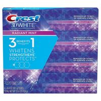 Crest 611766 3D White 4 Pack/ 6.4 oz, Radian Mint