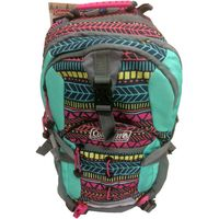 Coleman Kids Hydration Hiking Daypack Gray Green Blue Teepee