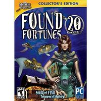MYSTERY MASTERS FOUND FORTUNES 20 GAMES IN ALL! SOFTWARE