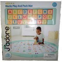 Jadore Blocks Play And Pack Mat Set