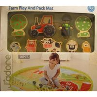 JADORE FARM PLAY AND PACK MAT SET