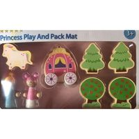 Jadore Princess Play amd Pack Mat Girls' Rug Toys Set