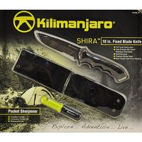 Kilimanjiaro Shira 10 in. Fixed Blade Knife