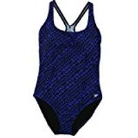 Speedo 1Piece Womens bathing suit in Navy size 8