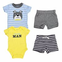 Carters Baby Boys Diaper Cover Sets (3 Months)