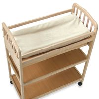 BB BASICS CHANGING PAD COVER IN IVORY