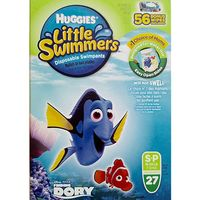 HUGGIES LITTLE SWIMMERS SWIM PANTS  1626 LBS 27 CT