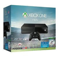 Microsoft Xbox One Madden NFL 16 Bundle 1TB Black Console
