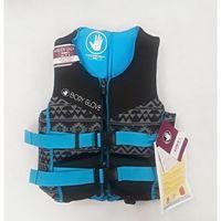 Body Glove Womens Evoprene PFD Life Vest  Grey/Blue pattern  (Small)