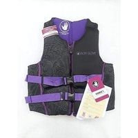 Body Glove Womens Evoprene PFD Life Vest  Black/Purple floral  (Small)