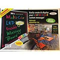 Clear Innovation MultiColor LED Lighted Message Board