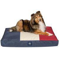 Serta Indoor/Outdoor Durable Waterresistant Cover Pet Bed In Red White Blue