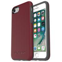 OtterBox Symmetry Case iPhone 7 iPhone 8, Cordovan/Slate Grey