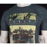 HURLEY MEN'S SHARKS COVE TSHIRT  GREEN (SIZE XL)