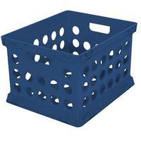 Sterilite File Crate Set, 3 Pack BLUE MOONLIGHT