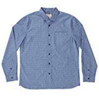 Boston Traders Men's LongSleeve Shirt in Estate Blue, Medium