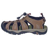 Eddie Bauer Men's Bump Toe Sandals  Brown Black, 13