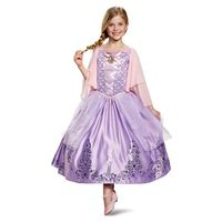 Disney Princess Prestige Child Costume, Rapunzel, Size S
