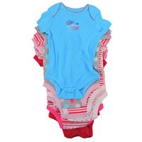 Member's Mark Baby Short Sleeve OnePiece Bodysuit 7pack, Size 69M