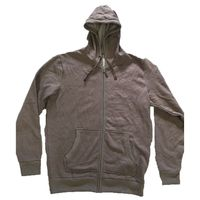 Trinity Collective Mens Valencia Full Zip Hoodie (large, Grey)