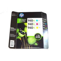 HP 940XL COLOR HIGH YIELD INK CARTRIDGES, 3 PACK
