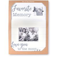 Olive And Hill 2 Pack Picture Frames, MEMORY
