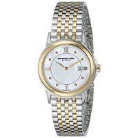 Raymond Weil Womens 5966STP00995 Tradition Diamond Stainless Steel Watch