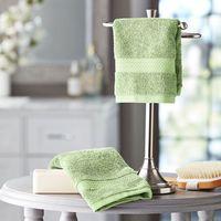 Hotel Premier Collection 100% Cotton Luxury Washcloth (2 PK, Sage)