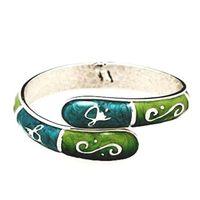FUMI Bracelet Purse Hook  Bangle  Emerald/Aqua