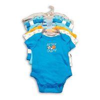 Member's Mark 7PK Boys Infant Bodysuit MultiColor, 0 to 3 months.