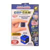 Atomic Beam Cop Cam Motion Activated HD Security Camera  As Seen On TV