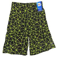 Champion boys Athletic shorts In Black Neon, 7/8