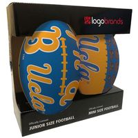 NCAA Tailgating Mini Junior Size Football Combo Pack UCLA Bruins