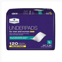 """MEMBERS MARK UNDERPADS, 23"""" X 36"""" (120 CT)"""