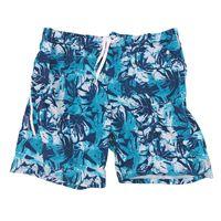 ZeroXposur Mens Stretch Surf Swim Shorts in Teal Blade, Size XXL