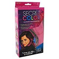 As Seen On TV Secret Color Hair Extensions  Pink (3 Pack)