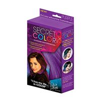 As Seen On TV Secret Color Hair Extensions  Purple