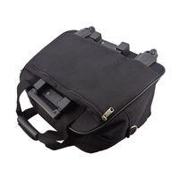 Protocol Black Canvas Carryon Bag
