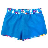 Skechers Girls Active Short Original in Blue Atoll/ City Light, Size 10/12.