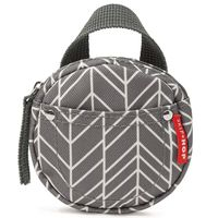 SKIP*HOP GRAB  GO PACIFIER POCKET IN GREY FEATHER