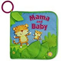Mama and Baby (Deluxe Cloth Book) Board Book