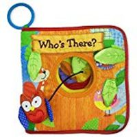 Who's There? (Deluxe Children's Cloth Book) Board Book