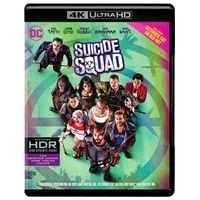 Suicide Squad (4K Ultra HD with Bluray and Digital HD With UltraViolet)