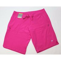 Free Country Women's Stretch Bermuda Board Short In Hot Pink, Large (12/14)