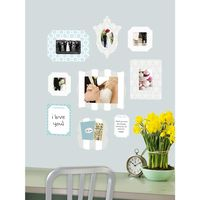 Butch and Harold Stickr Bliss Frame Decal (Set of 6).