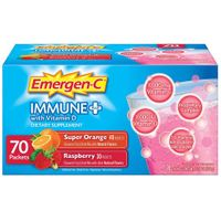 EmergenC Immune+ (70 ct.) Super Orange and Raspberry Flavor