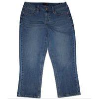 Seven7 Women's Washed Skinny Capri Denim Jeansvenus blue4