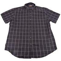 Van Heusen Men's Flex NonIron ClassicFit ButtonDown Shirt in Black, Size XXLarge