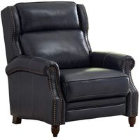 Member's Mark Classic TopGrain Leather Macey Pushback Recliner