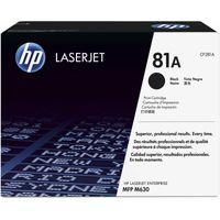 HP 81A CF281A Black Toner Cartridge LaserJet